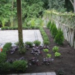Interlocking Patio and Garden Design And Planting